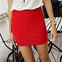 女性のスリムパッケージヒップミニスカート(多くの色)
