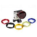 GoPro アクセサリ レンズフィルターのために-Action Camera,GoProヒーロー5 アルミニウム合金