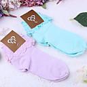 čarape Sweet Lolita Lolita Crvena / Crn Lolita Pribor Čarape Jednobojni Za Žene Čipka / Polyester