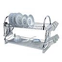 "1 Kuhinja kuhinja Nehrđajući čelik / Plastika Regali i nositelji W59cm x L24cm x H40cm(W23.6"" x L9.6"" x H16"")"
