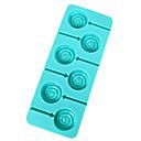 シリコーンロリポップモールドケーキデコレーションベーキングツール、ランダムな色
