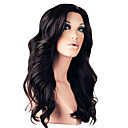 最高品質の18インチ130%密度100パーセントブラジルフロントレース人間の髪の毛のかつら4色