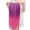 Otpornost na visoke temperature u dvije nijanse 20 inča dugo Ravno 5 Clip hairpiece Extension 11 boja na raspolaganju