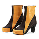 Cosplay Boots Cosplay Cosplay Anime Cosplay Shoes Crna / Žuta PU Leather Female