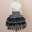 Učenica Angelic Seksi Pokrivač goth punk Lolita Klub Mini suknja