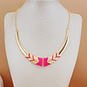 Canlyn Sweater Necklace Pink