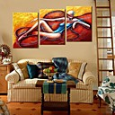 Rastegnut Canvas Art Abstract Set znakova 3