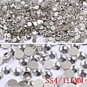 1440PCS Pulkulatý Byt Základní drahokamu Nail Art Dekorace (1,5 mm)