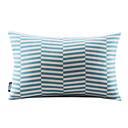 Plava Geometrijski Pamuk / Posteljina Decorrative Jastuk Cover