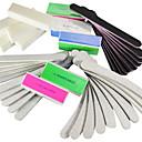 40個5種類アクリル用(4色)アートファイル&バッファーブロックネイルマニキュアセット