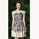 TS Vintage Cvjetni print haljina