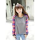 JINYI Korejski Loose Fit Long Sleeve T-Shirt