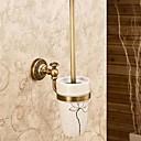 アンティークスタイルの壁は、印刷トイレブラシホルダーマウント