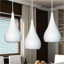 Závěsná světla ,  moderní - současný design Kulatá Obraz vlastnost for LED KovJídelna Kuchyň studovna či kancelář dětský pokoj Herní