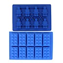 Brick & MINI robot u obliku FDA Silicon Ice Cube Ladica setove
