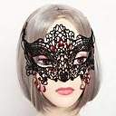 Mask Vampiri Festival/Praznik Halloween kostime Srebrna / Crn Jednobojni / Čipka Mask Halloween / Karneval UniseksČipka / Umjetna