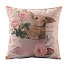 Država Lovely Rabbit Pamuk / Posteljina Dekorativni jastuk Cover