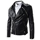 Men's Solid Color Slim Jacket (Removable Sleeves)