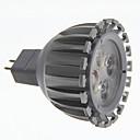 5pack GU5.3 MR16 7w 460lm 3000K teplé bílé světlo LED Spot žárovka (12V)
