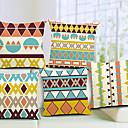 set od 5 suvremene geometrijske pamuka / lana dekorativni jastuk naslovnici