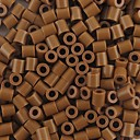 約500個/袋5mmのコーヒーperlerビーズはビーズの浜ビーズの子供のためのDIYのジグソーパズルEVA物質安全を融合