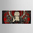 Reprodukce na plátně umění Buddha Sada 3