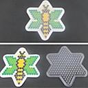 5ミリメートルHAMAビーズ用の1個のテンプレート明確ペグボード蜂パターンはビーズヒューズビーズperler