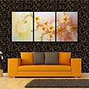 Reprodukce na plátně jsi ten vysněný květ otevřený za měsíc dekorace sadu 3