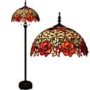 60w Tiffany Podne svjetiljke , svojstvo za Zaštita za oči , s Oslikano Koristiti On/off prekidač Prekidač