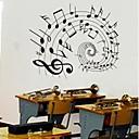 doudouwo®壁のステッカーの壁のステッカー、音楽美しいノートのポリ塩化ビニールの壁のステッカー