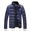 男性の純粋な色の綿のコート