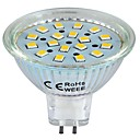 GU5.3(MR16) 3W 18 SMD 2835 260 LM 温白色 LEDスポットライト DC 12 V