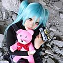 Cosplay Wigs Cosplay Cosplay Plava Medium Anime Cosplay Wigs 60 CM Otporna na toplinu vlakna Female