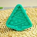 vánoční strom fondant dort čokoládový Silikonová forma dort dekorace nástroje, l7.7 * w7.7 * h1cm
