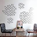 samolepky na zeď Lepicí obrazy na stěnu, moderní zděný textury vlastnosti pvc nástěnné samolepky