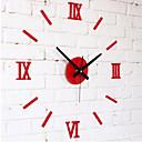 コンテンポラリー その他 壁時計,円形 アクリル 11.8-27.5 Inch 屋内 クロック