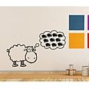samolepky na zeď na stěnu, domácí dekorace ovce citáty nástěnná malba na zdi pvc samolepky
