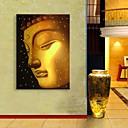 E-home® pruži dovela platnu print umjetnosti Buddha bljesak djelovanje na čelu