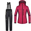 Dámské Zimní bunda / Kalhoty / Bundy 3 v 1 / Dámská bunda / Sady oblečení/Obleky Lyže / Outdoor a turistika Voděodolný / Zahřívací Zima