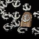 50pcs zlato zlatna legura nail art ukrasa za nokte Nakit za nokte i salon dnevnoj DIY manikuru