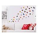 samolepky na zeď na stěnu, styl butterfly barvy PVC samolepky na zeď