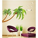 zidne naljepnice zidne naljepnice, stil kokosovo stablo PVC zidne naljepnice