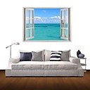 3D zidne naljepnice zidne naljepnice, modro more dekor vinil zidne naljepnice
