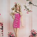 プリンセスライン コスチューム ために バービー人形 レッド ドレス のために 女の子の 人形玩具