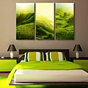E-home® rastegnut platnu si padina krajolik ukras slikarstvo set 3