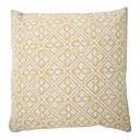 """createforlife® 18 """"retro cvjetne žute Totemi pamučna posteljina kvadrat ukrasne jastuk"""