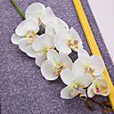 """40 """"dlouhý textilní motýlek ochird sada 3 bílé barvy"""