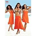 Women Nylon Halter/Bandeau Multi-way Swimming Accessories/Cover-Ups VB004