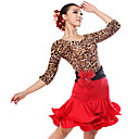 Žene - Haljine - za Latin Dance (Tigerstreifen / Zebra / Leopard Print , Tejszövet