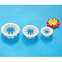 4-Cカーネーションフォンダン装飾カッター、sugarcraftカッター、ケーキフォンダン装飾、ケーキカッターツール